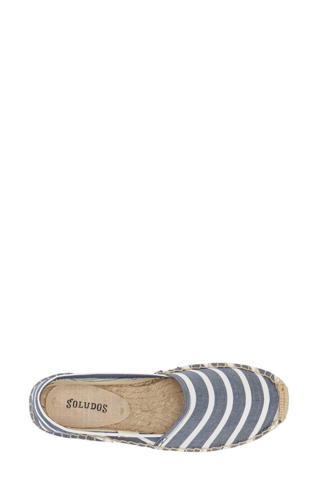 ,                             'Classic Stripe' Espadrille Slip-On,                             Alternate thumbnail 8, color,                             412