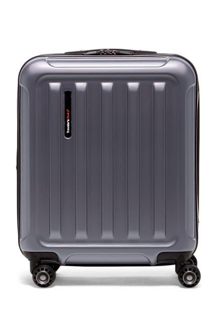 "Image of Traveler's Choice Smart USB Port 20"" Expandable Spinner Luggage"