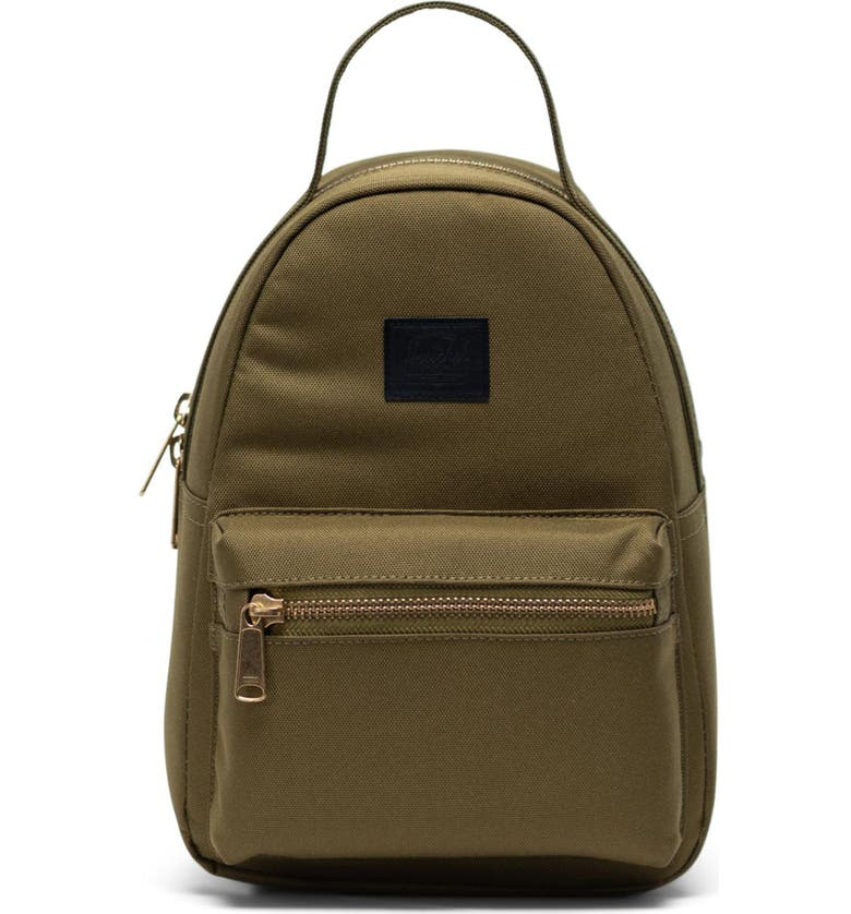 HERSCHEL SUPPLY CO. Mini Nova Backpack, Main, color, KHAKI GREEN