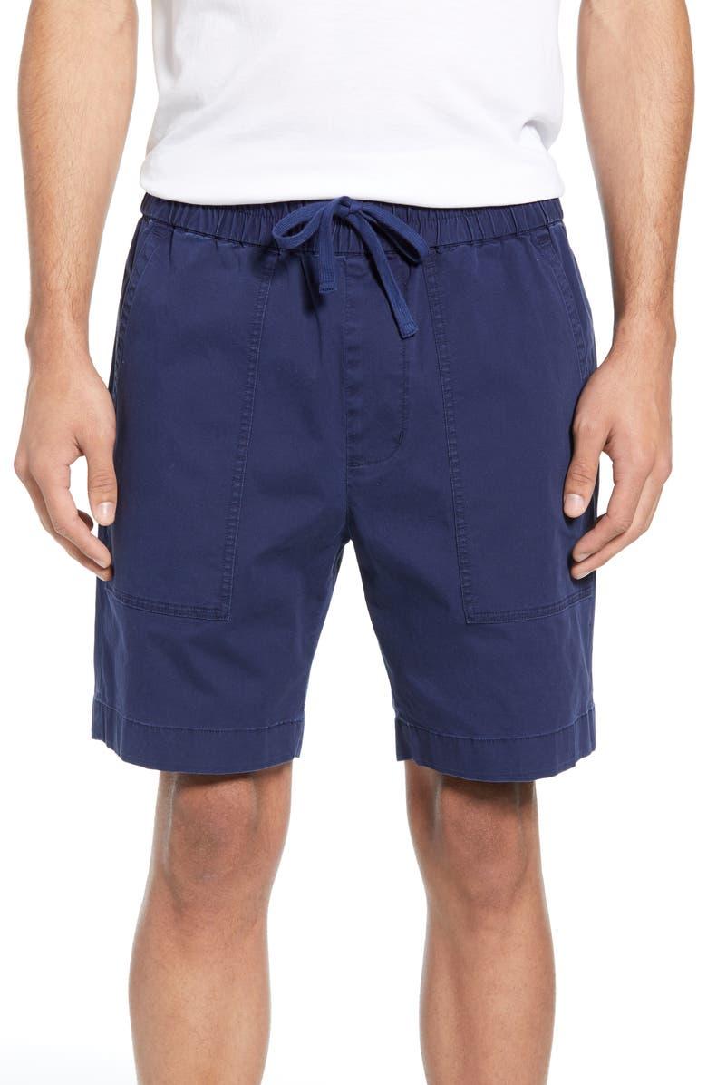 VINCE Slim Fit Utility Shorts, Main, color, DARK INDIGO