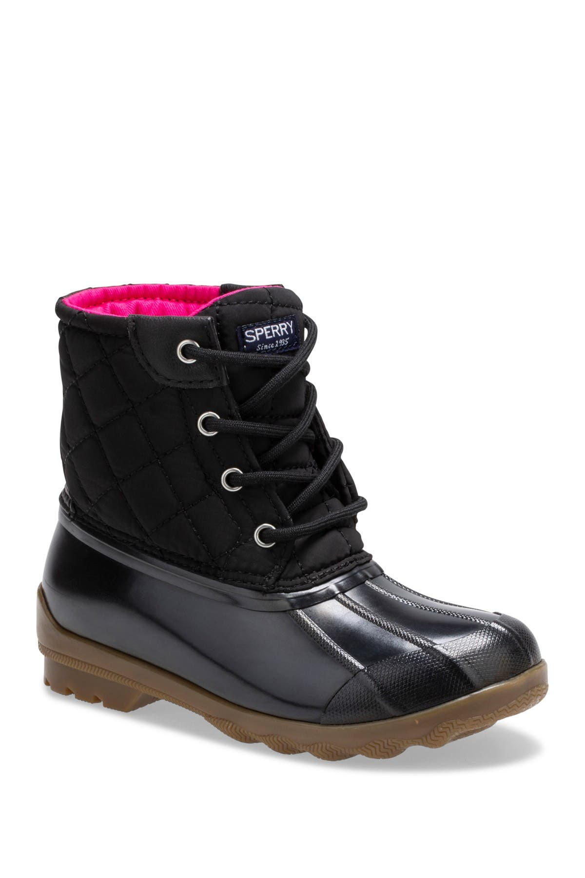 8M Sperry Top-Sider Port Boot Black