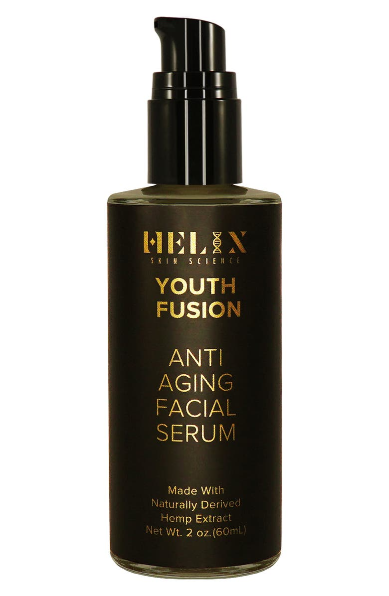 HELIX SKIN SCIENCE Youth Fusion Anti-Aging Facial Serum with CBD, Main, color, NO COLOR