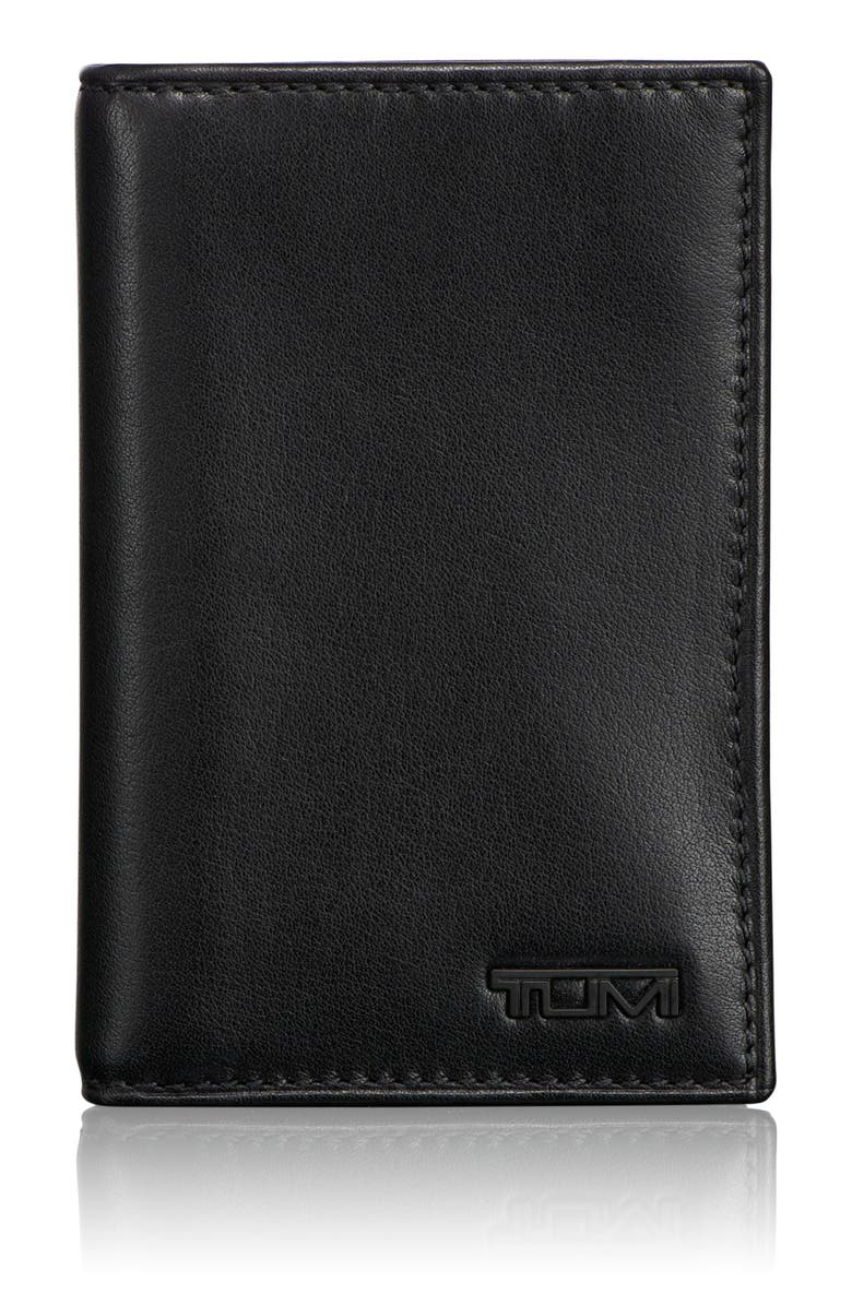 TUMI Delta - ID Lock<sup>™</sup> Shielded Multi Window Card Case, Main, color, BLACK