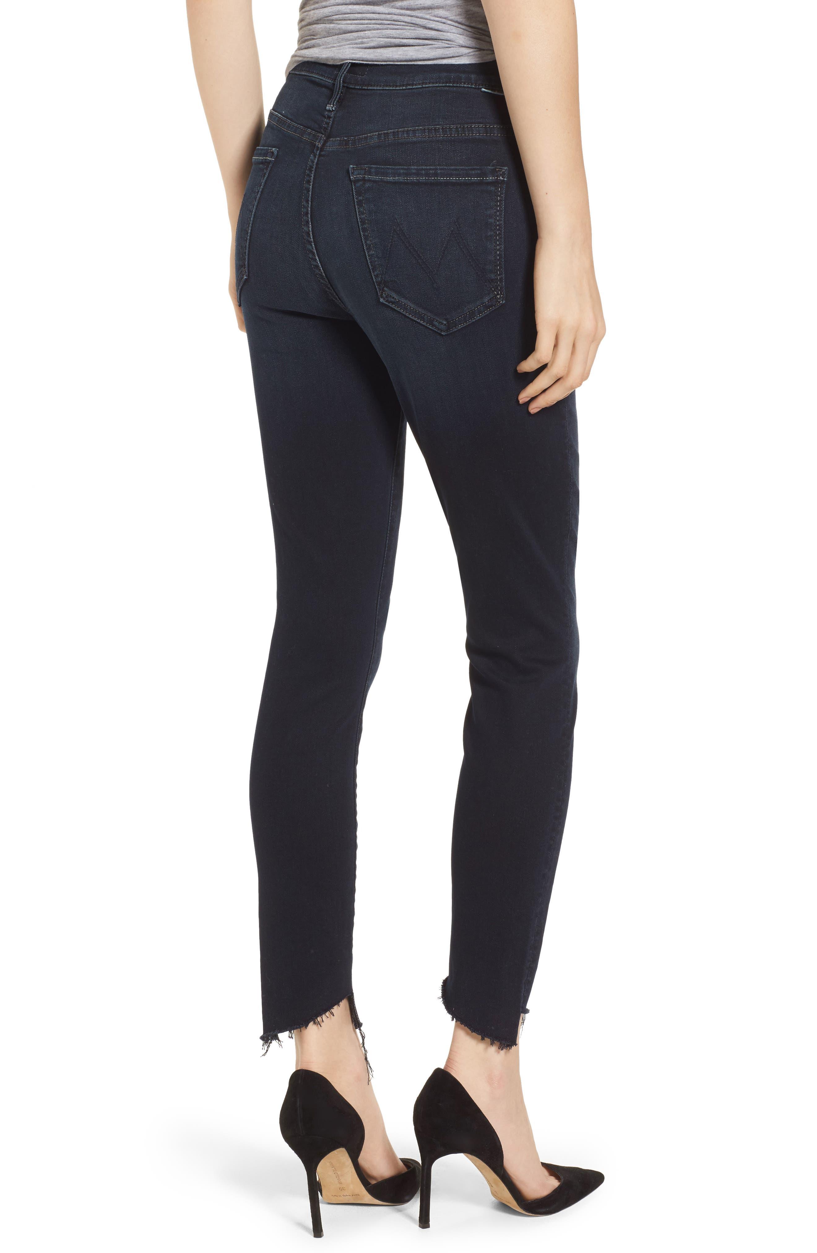 ,                             The Stunner High Waist Fray Ankle Skinny Jeans,                             Alternate thumbnail 2, color,                             LAST CALL