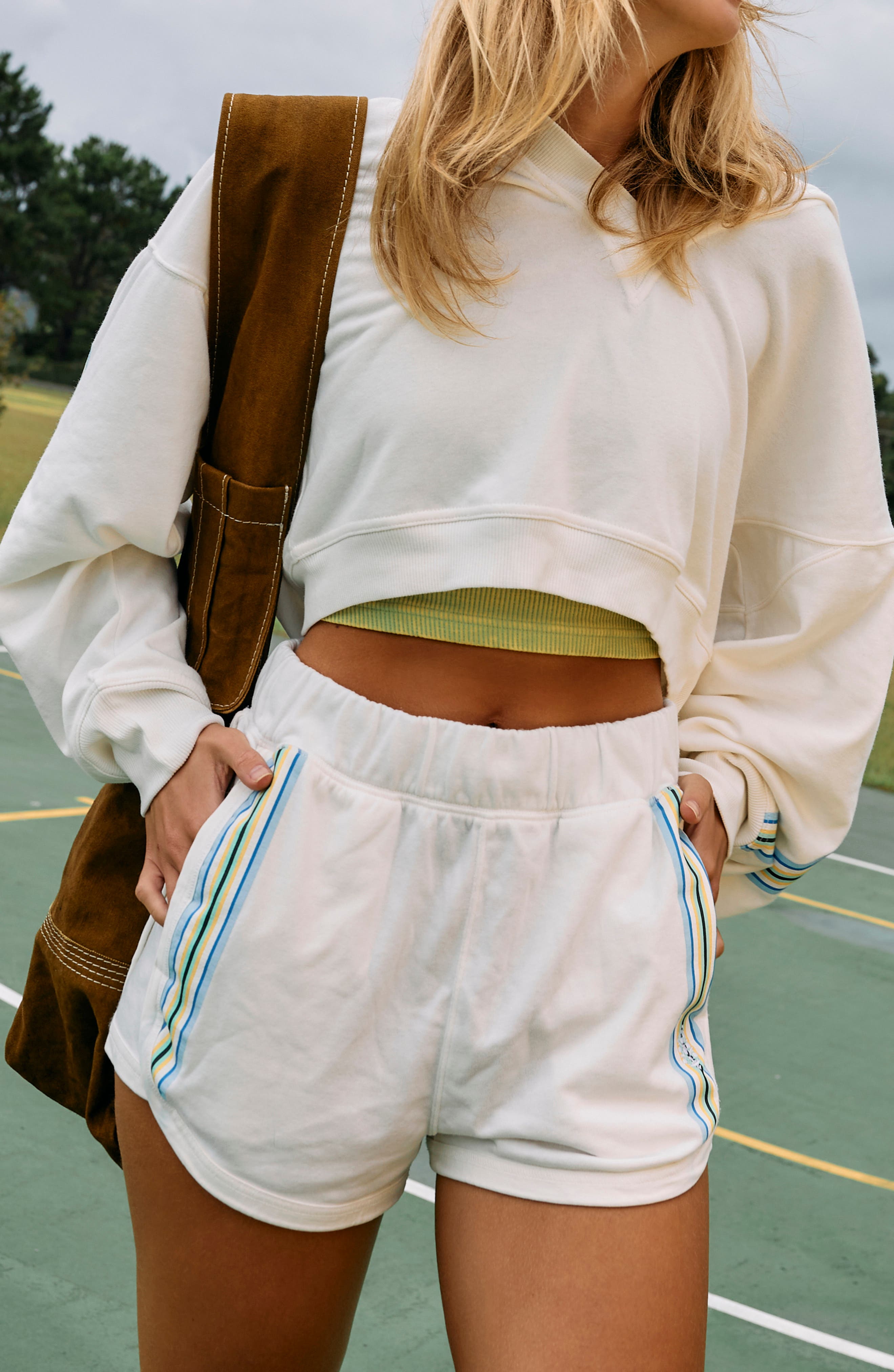 Grand Slam Striped Shorts
