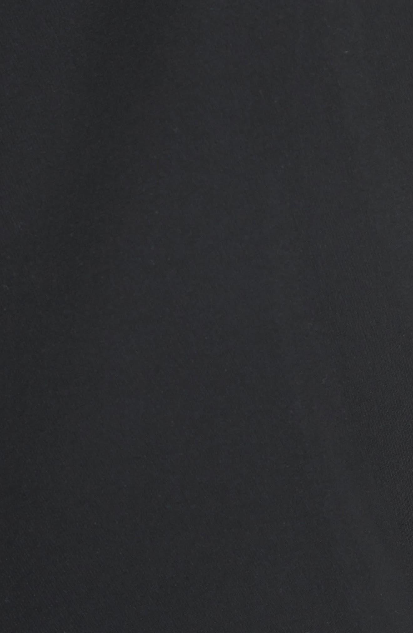 ,                             One-Button Blazer,                             Alternate thumbnail 6, color,                             BLACK