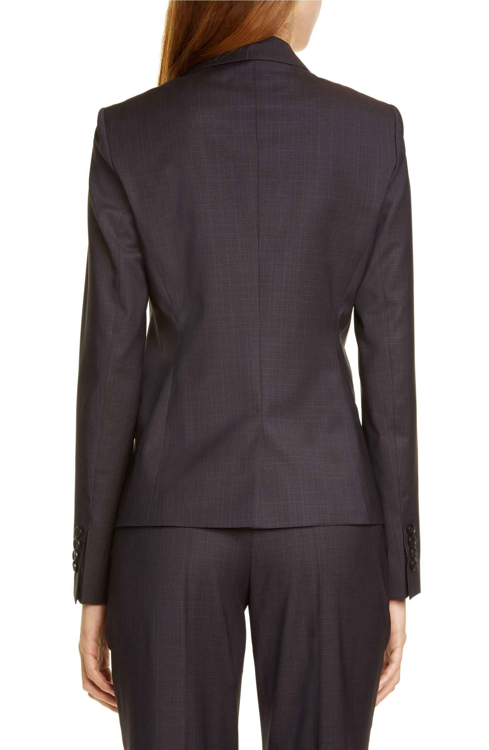 9c7547c99 BOSS Jarana Rich Check Wool Suit Jacket (Regular & Petite)   Nordstrom