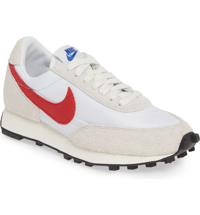 NIKE Daybreak SP Sneaker, Main, color, WHITE/ UNIVERSITY RED