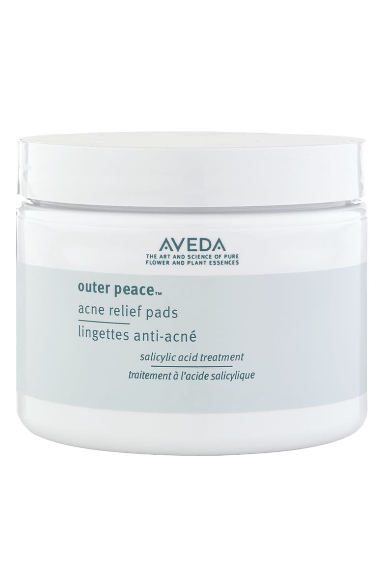AVEDA outer peace<sup>™</sup> Acne Relief Pads, Main, color, NO COLOR