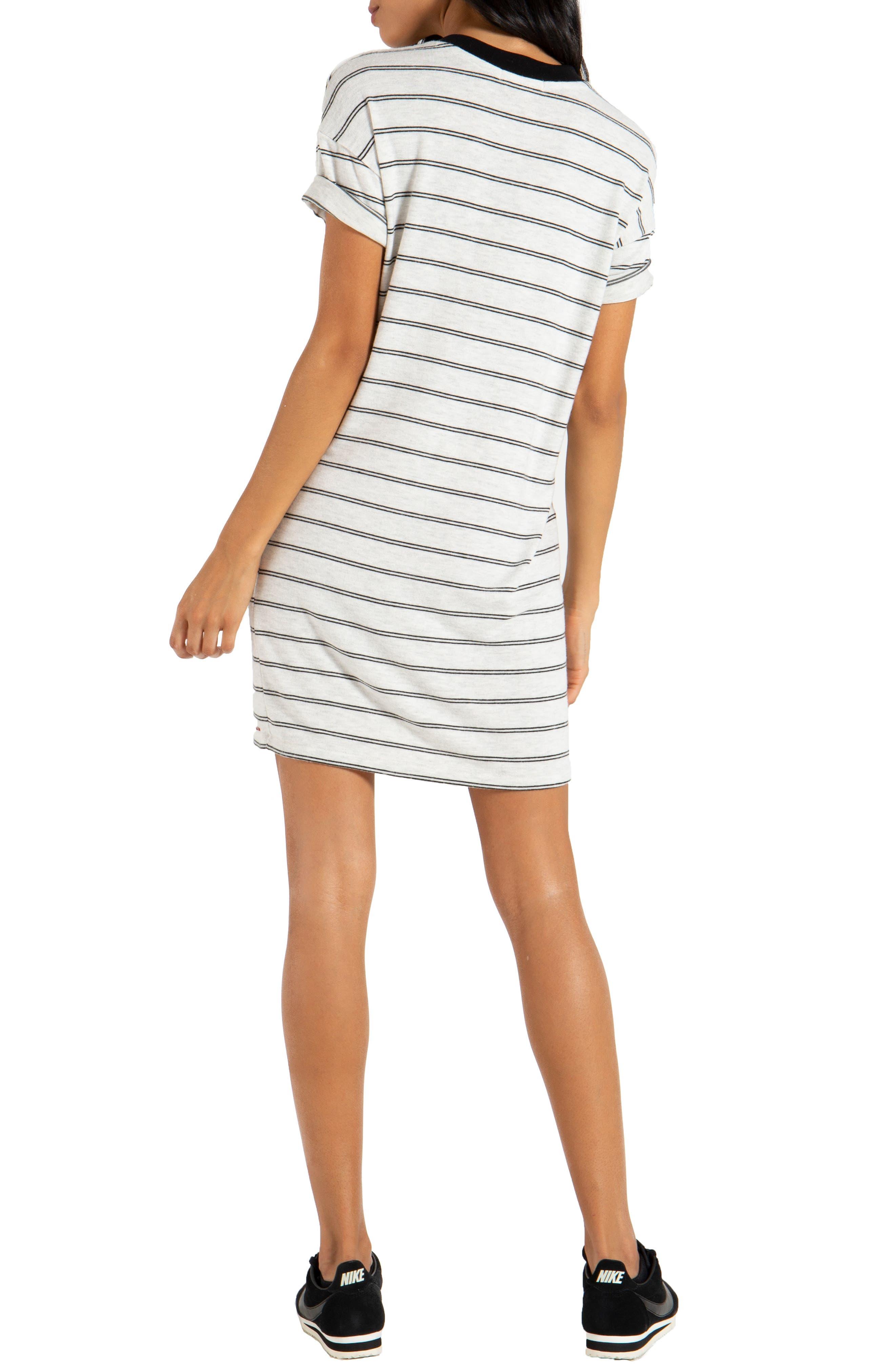 ,                             Cortez T-Shirt Dress,                             Alternate thumbnail 2, color,                             100