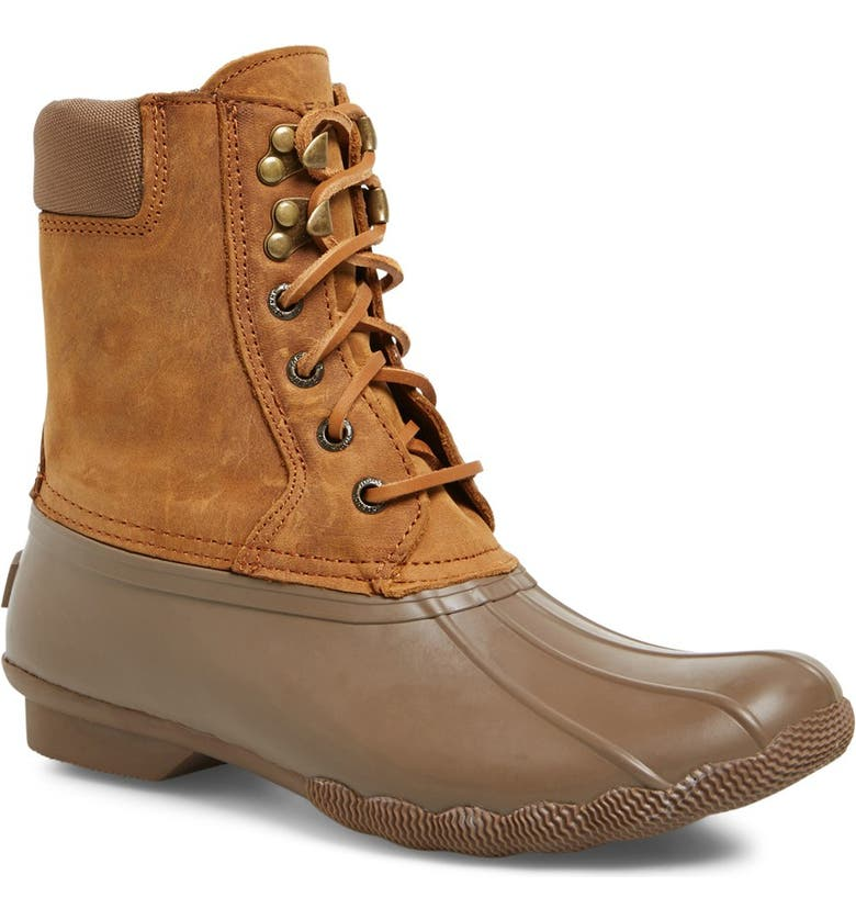 SPERRY 'Shearwater' Waterproof Duck Boot, Main, color, 260