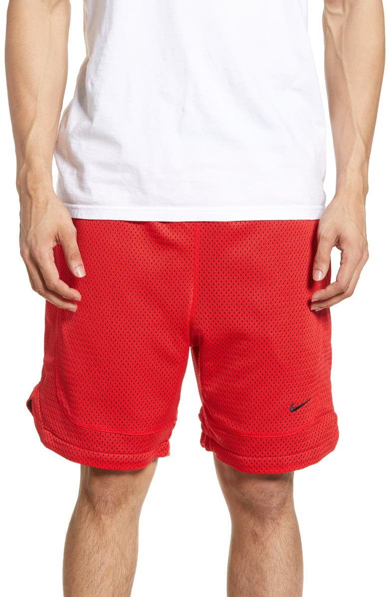 NIKE NikeLab Collection Men's Reversible Shorts, Main, color, UNIVERSITY RED/ BLACK