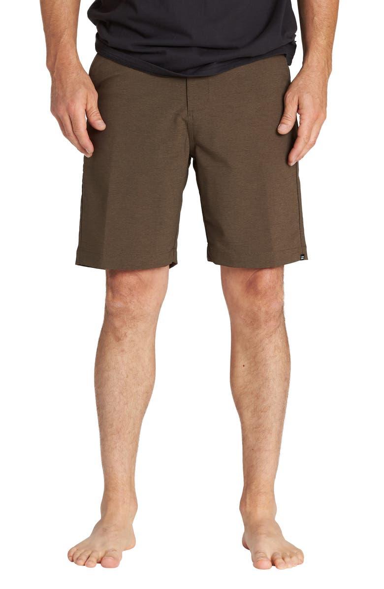 BILLABONG Surfreak Hybrid Shorts, Main, color, MUD