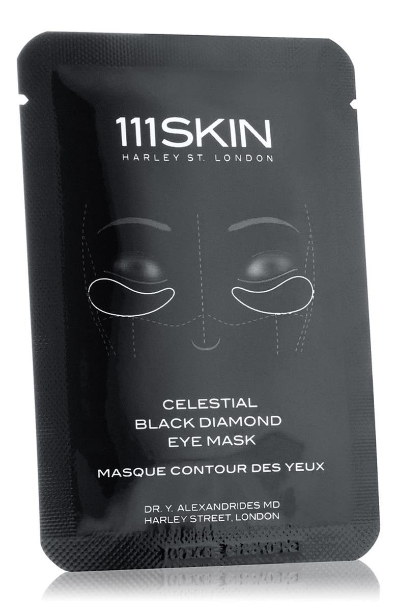 111SKIN SPACE.NK.apothecary 111SKIN Celestial Black Diamond Eye Mask, Main, color, NO COLOR