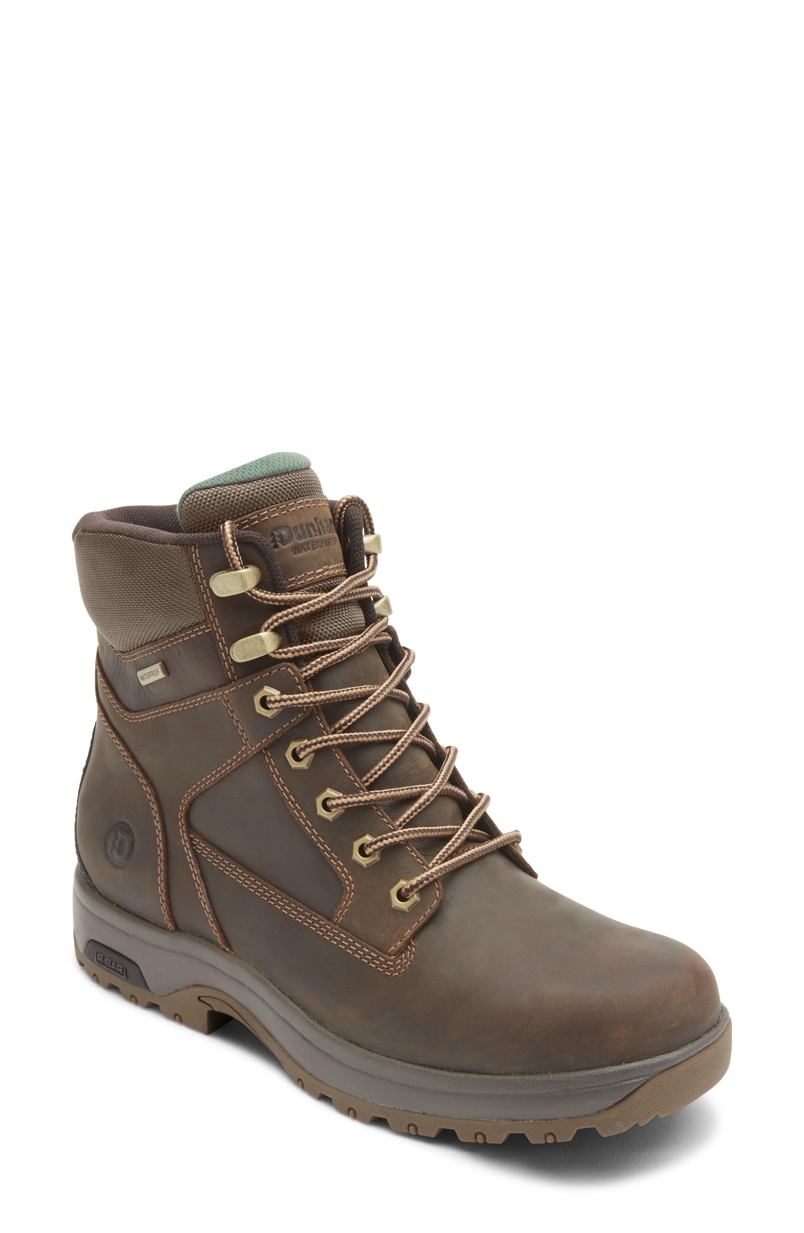 8000 Works Waterproof Plain Toe Boot