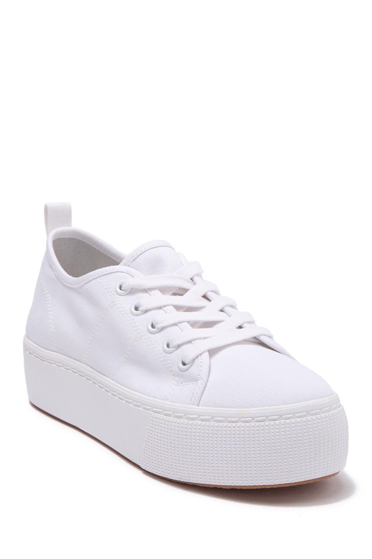 sneakers platform white