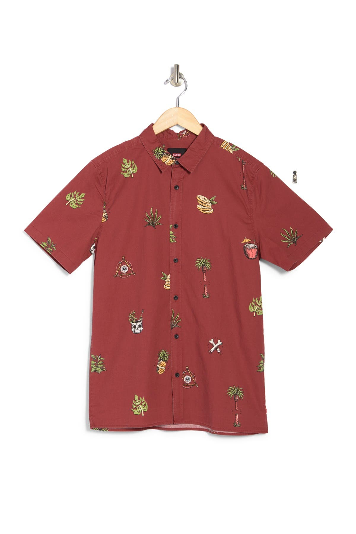 Image of GLOBE Half Cut Short Sleeve Shirt