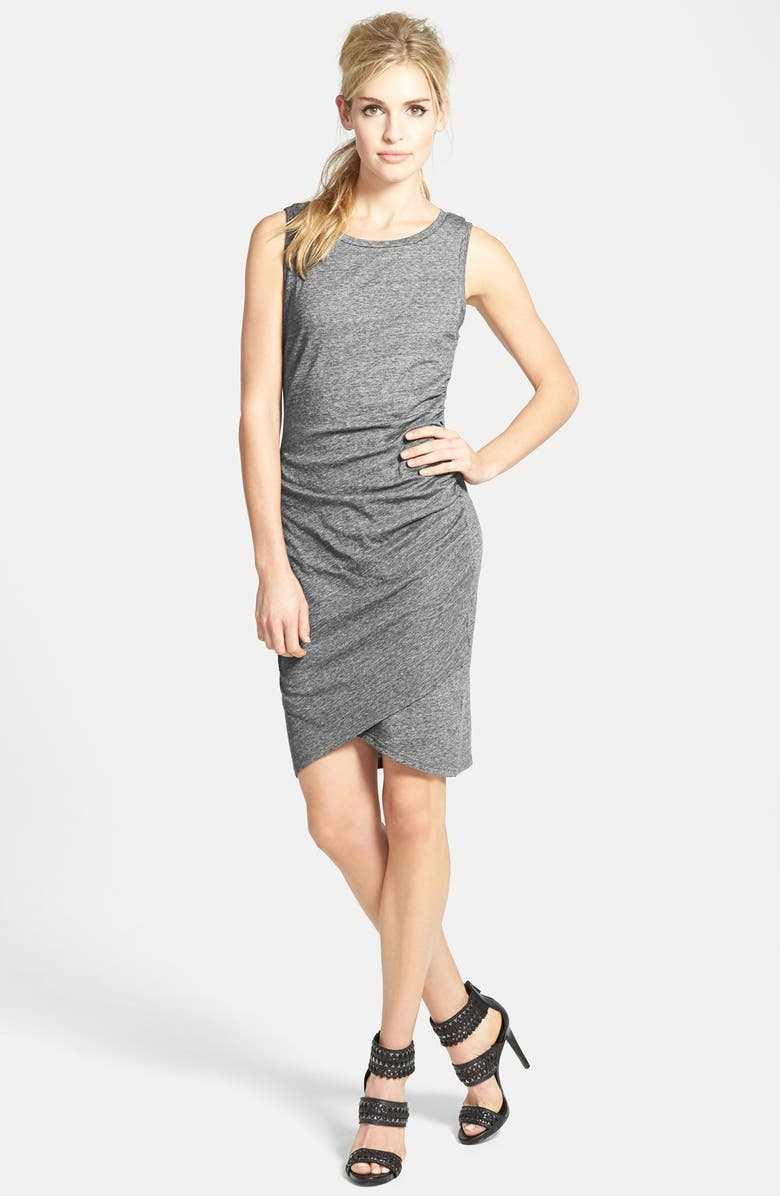 LEITH Ruched Body-Con Tank Dress, Main, color, 023