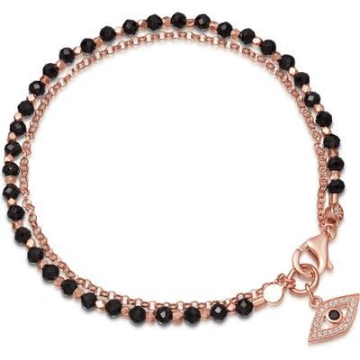 Astley Clarke Black Spinel Evil Eye Bracelet