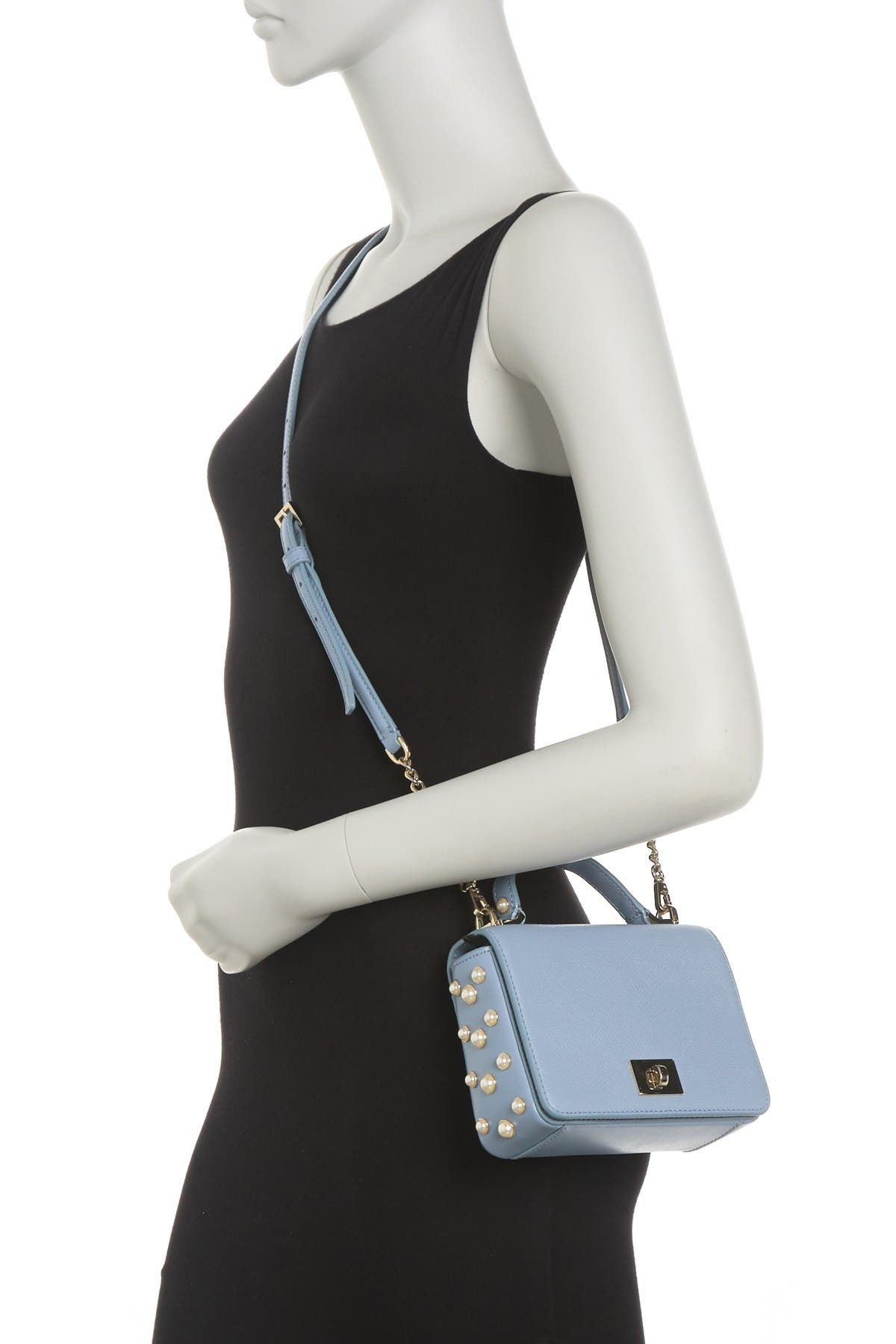 Image of kate spade new york maisie leather crossbody bag