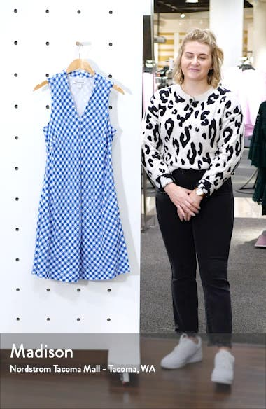 Bonita Check Shift Dress, sales video thumbnail