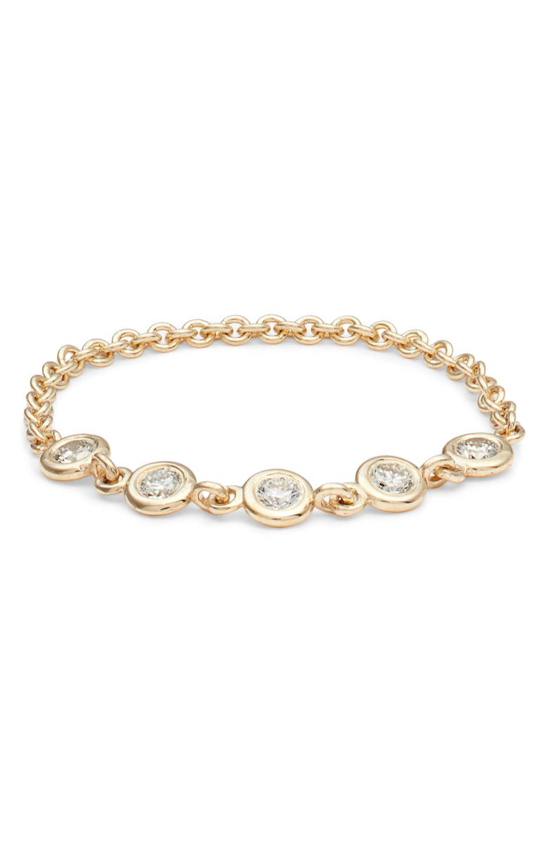 Bezel Diamond Ring by ZoË Chicco