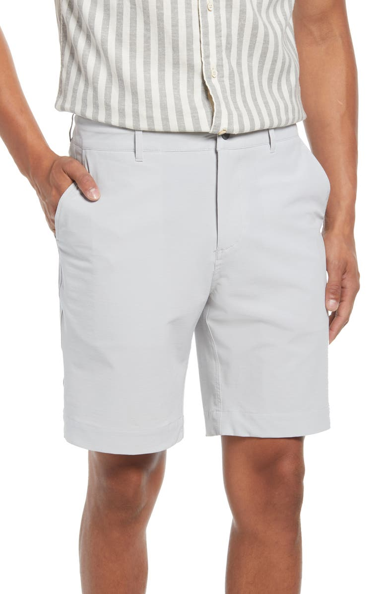 FAHERTY Belt Loop All Day Hybrid Shorts, Main, color, 010
