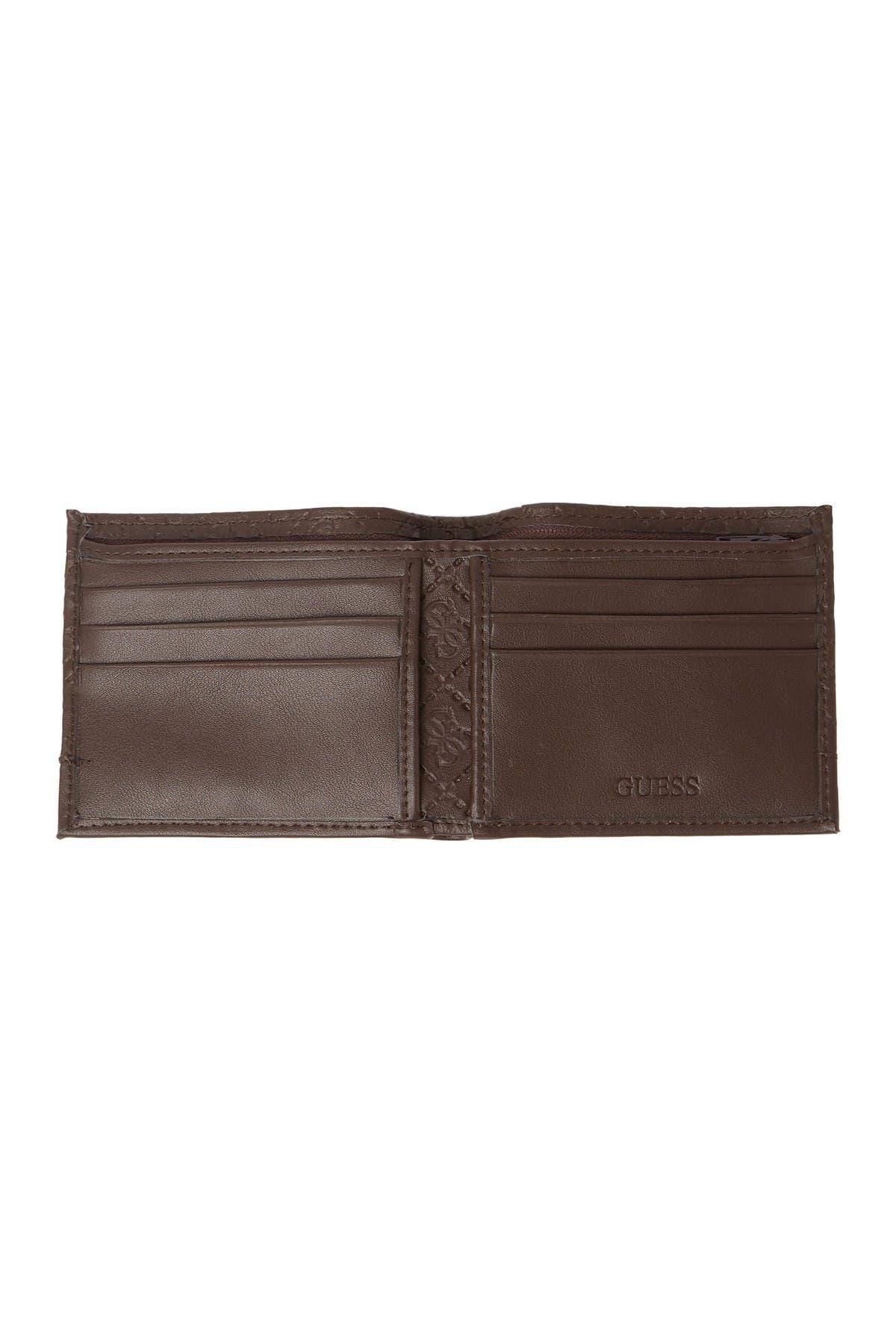 Image of GUESS Duane RFID Slimfold Wallet