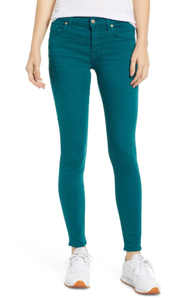 7 FOR ALL MANKIND<SUP>®</SUP> The Ankle Skinny Jeans, Main, color, 303