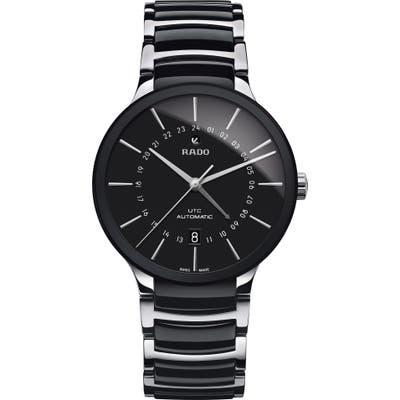 Rado Centrix Automatic Ceramic Bracelet Watch, 40Mm