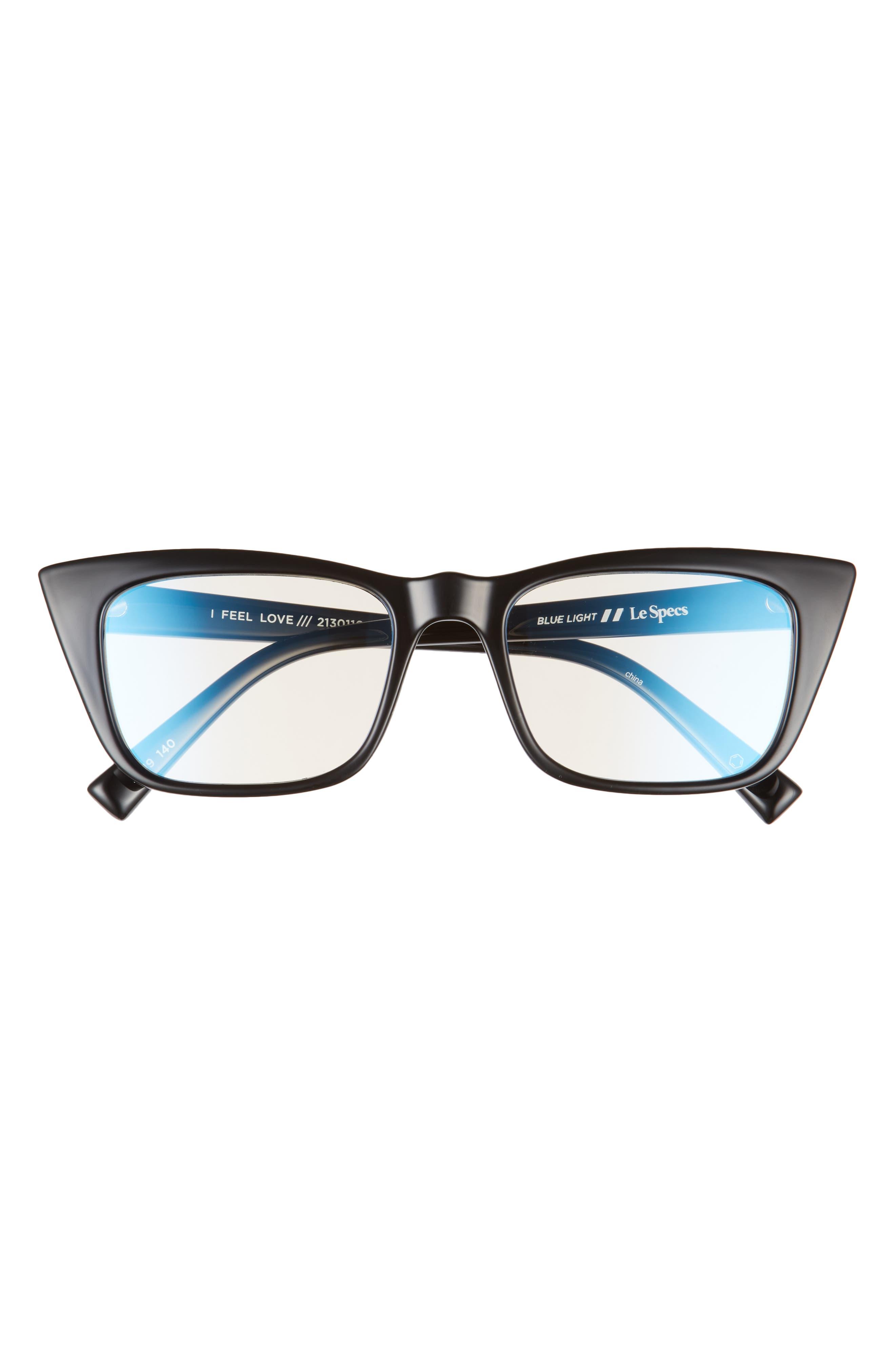 I Feel Love 48mm Small Blue Light Blocking Glasses
