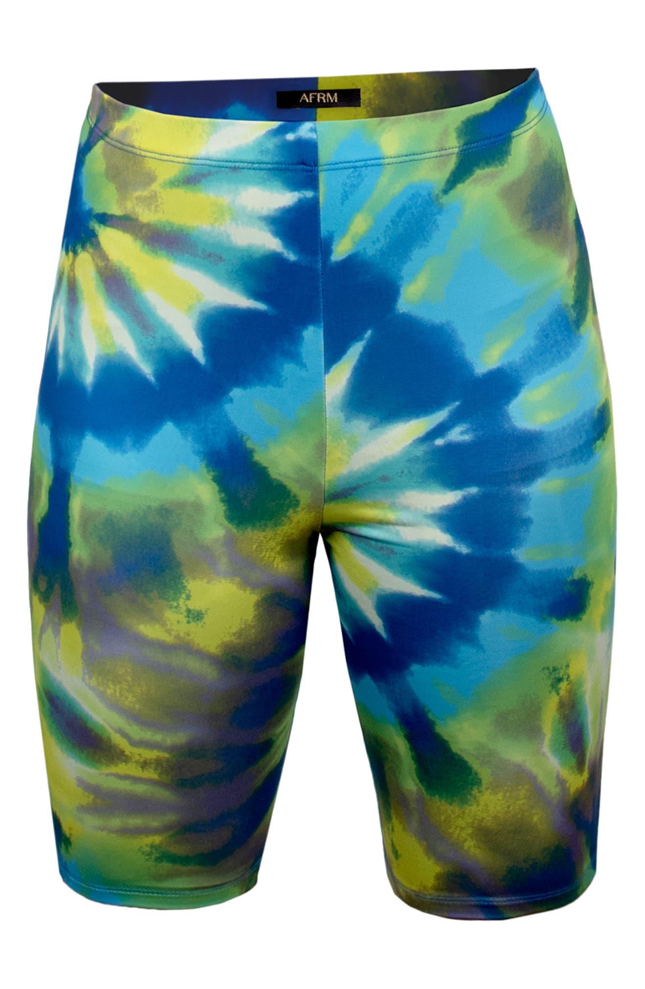 Khloe Tie Dye Bike Shorts