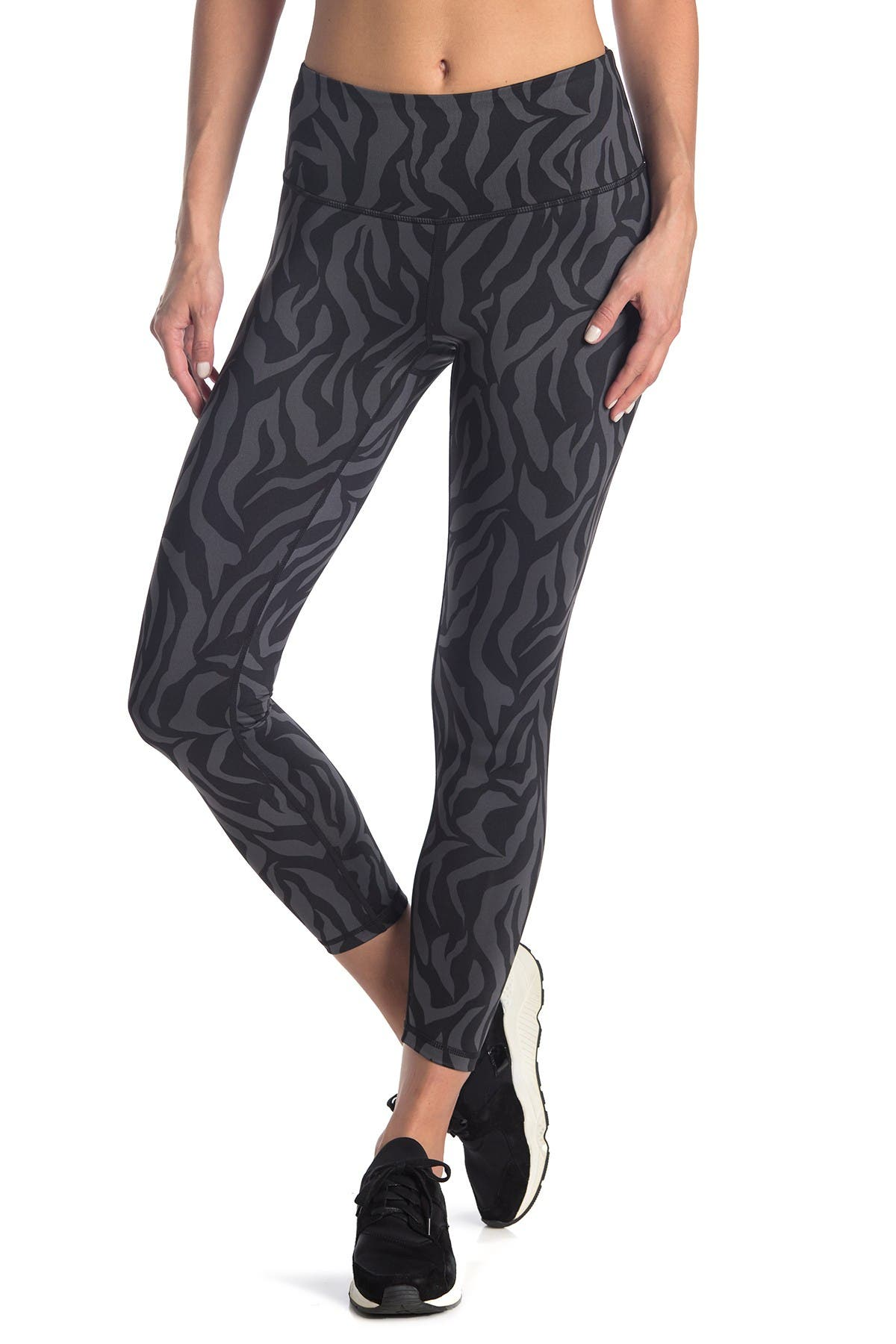 Image of Z By Zella Printed Daily High Waist 7/8 Leggings