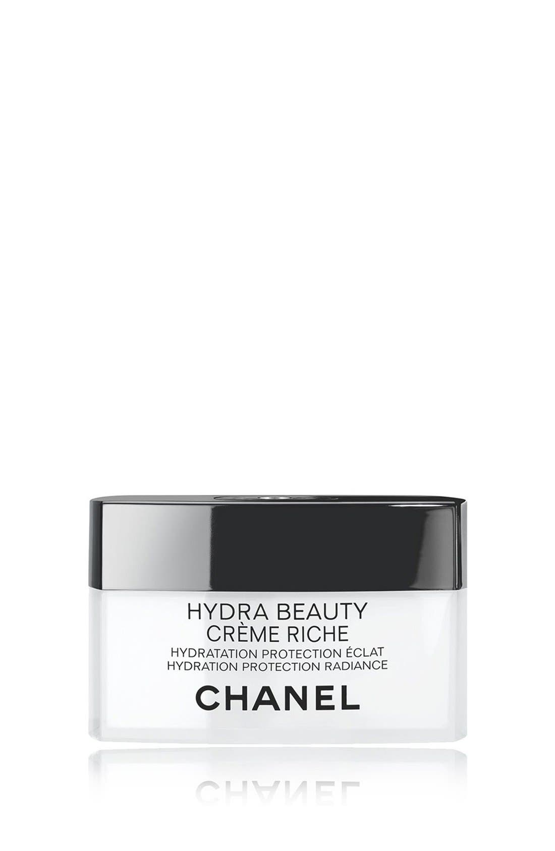 CHANEL HYDRA BEAUTY CRÈME RICHE  Hydration Protection Radiance   Nordstrom