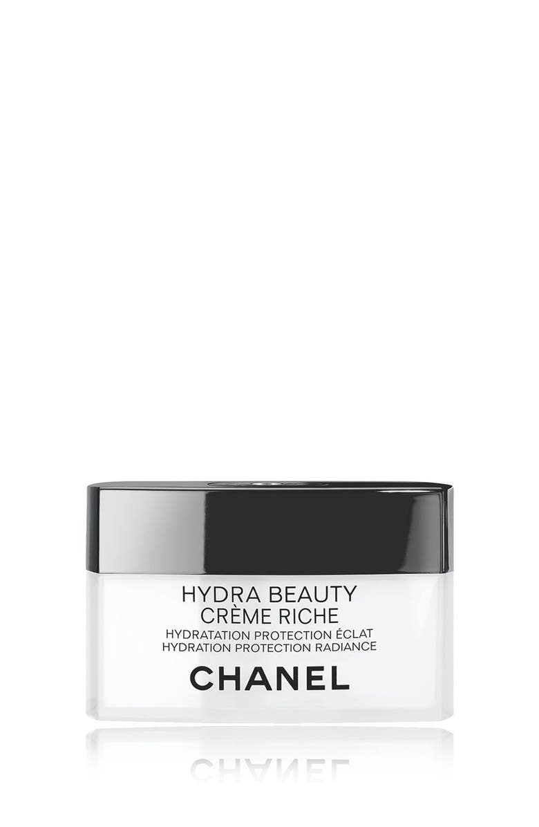 CHANEL HYDRA BEAUTY CRÈME RICHE <br />Hydration Protection Radiance, Main, color, NO COLOR