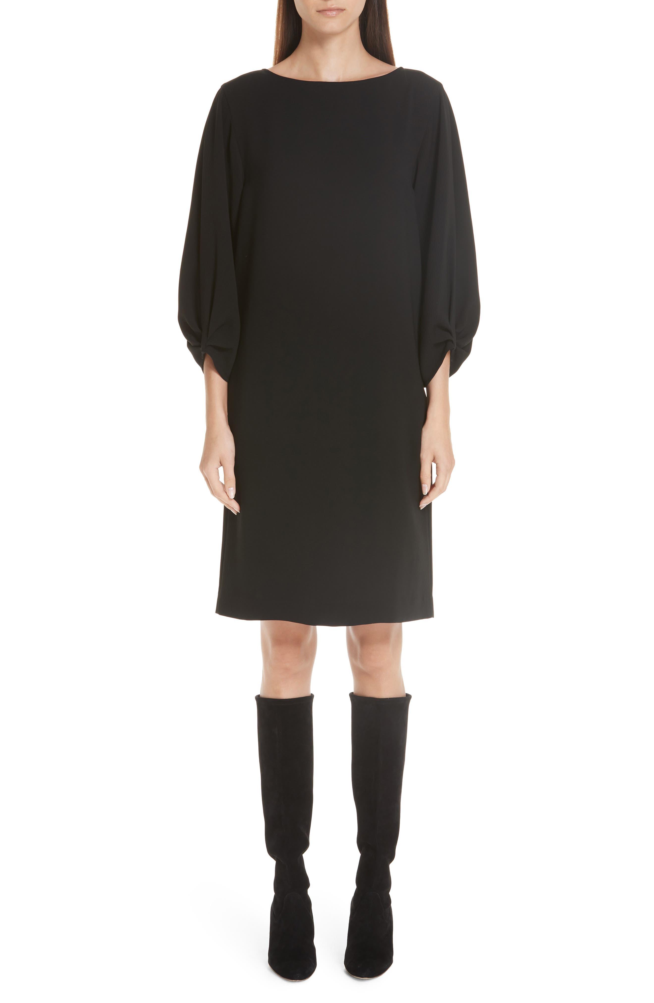 Image of Lafayette 148 New York Wynona Finesse Crepe Dress