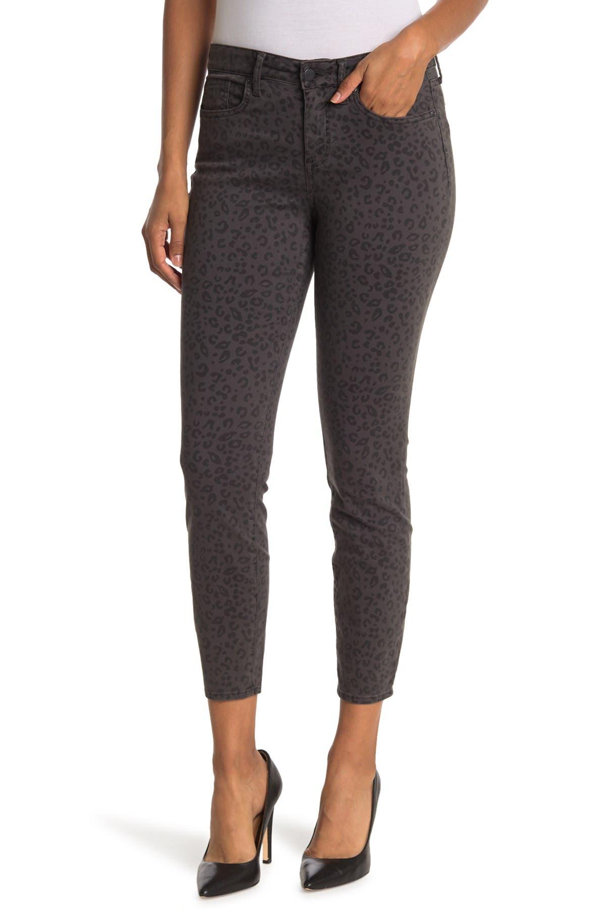Image of NYDJ Ami Leopard Print Skinny Jeans