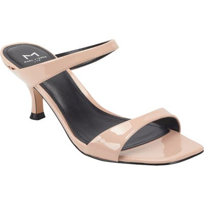Marc Fisher Ltd Genia Slide Sandal, Beige