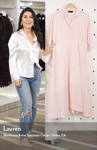 Elsa Belted Shirtdress, sales video thumbnail