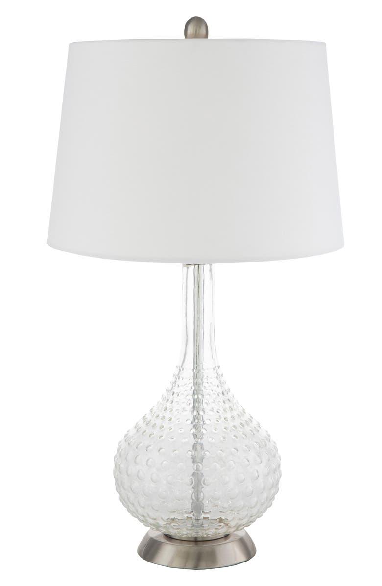 SURYA HOME Carla Table Lamp, Main, color, WHITE
