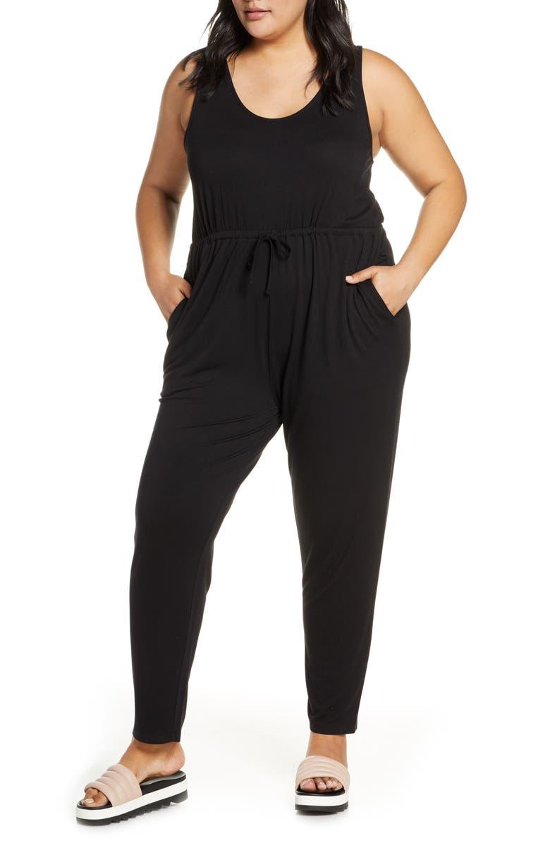 BP Tie Waist Jumpsuit Plus Size