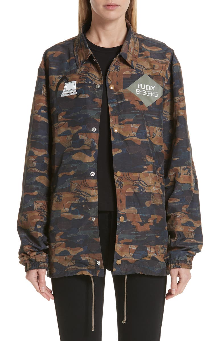 Camo Jacket by Undercover