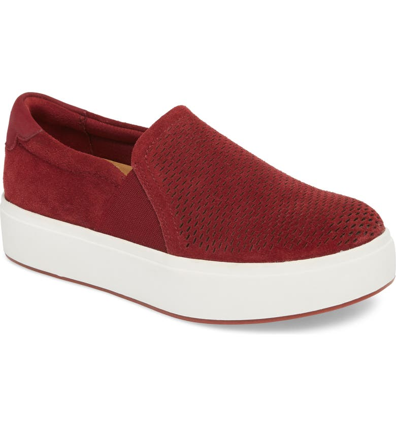 DR. SCHOLL'S Abbot Lux Sneaker, Main, color, SPICE SUEDE