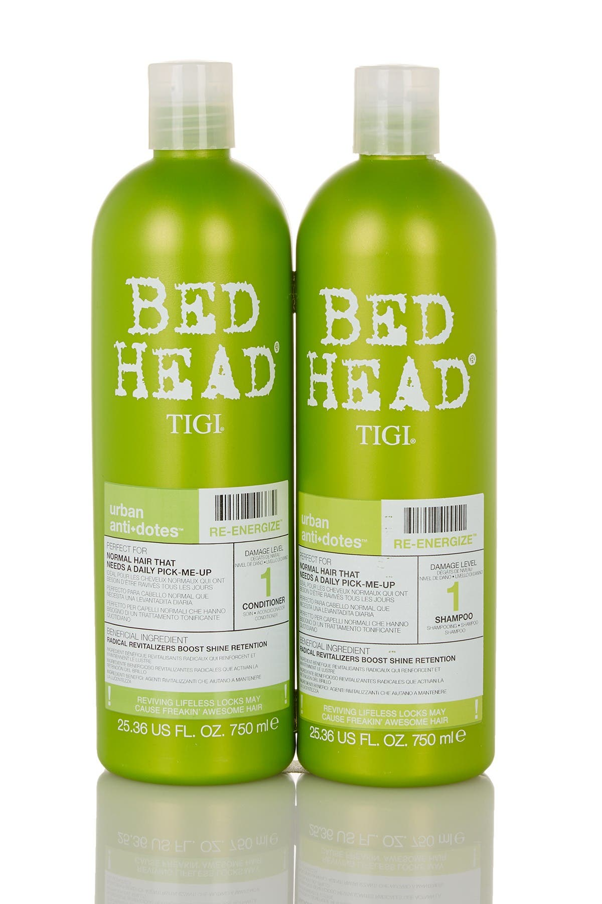 Image of TIGI Bed Head Urban Anti-Dote Shampoo & Conditioner Set