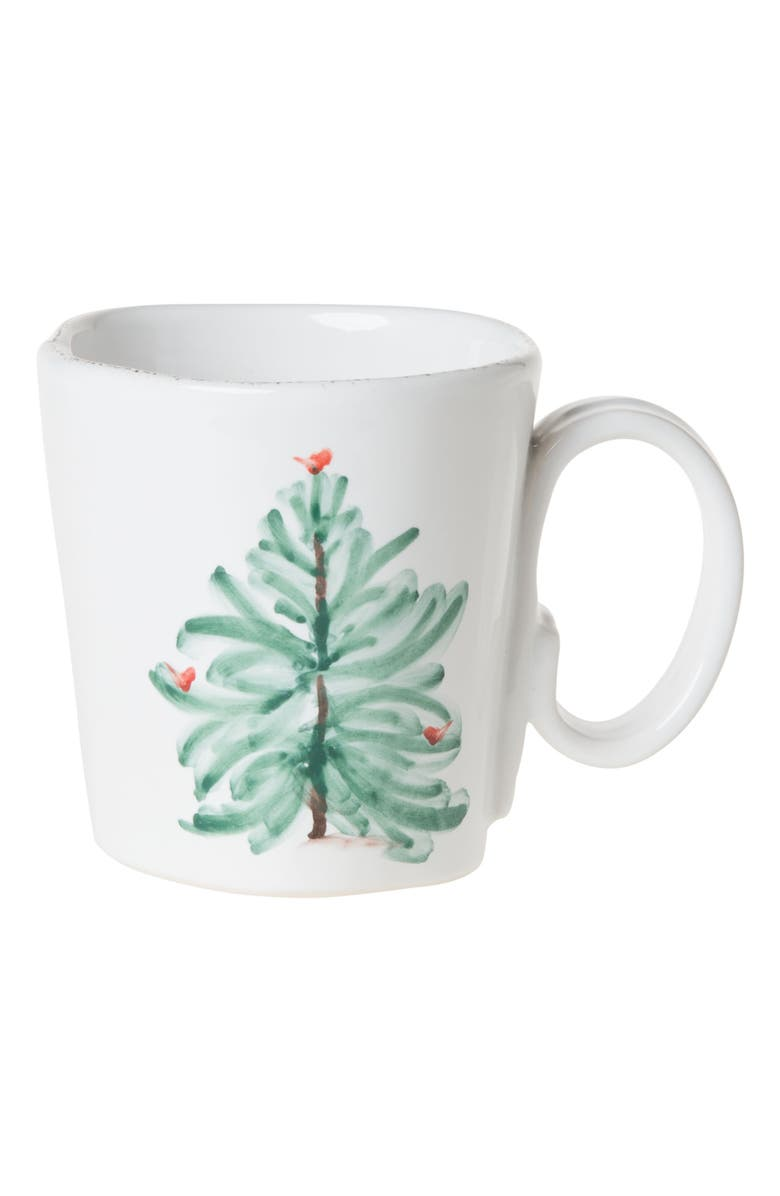 VIETRI Lastra Holiday Mug, Main, color, HAND PAINTED