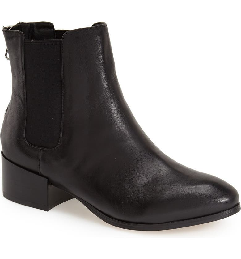 STEVE MADDEN 'Jodpher' Bootie, Main, color, BLACK LEATHER