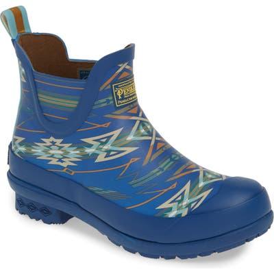 Pendleton Starwatchers Heritage Print Waterproof Chelsea Boot, Blue