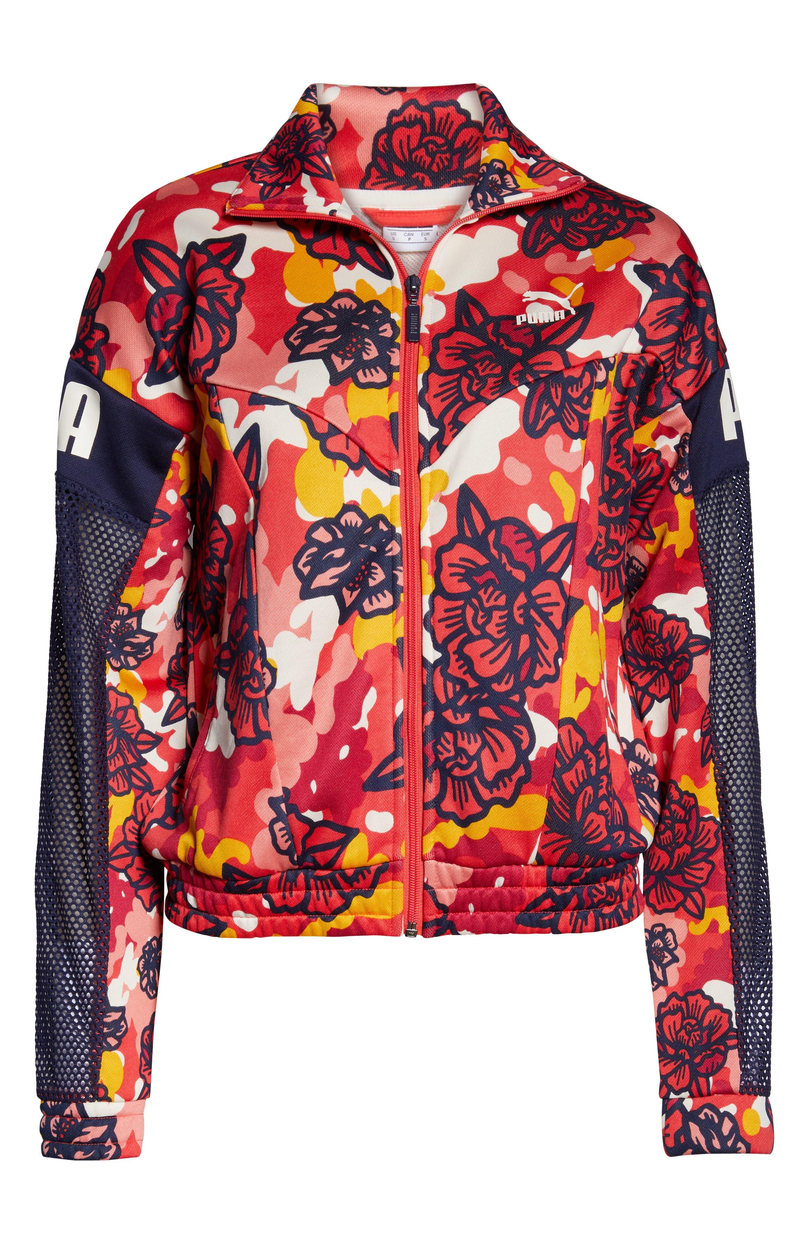 ,                             Flourish XTG Jacket,                             Alternate thumbnail 7, color,                             HIBISCUS MULTI