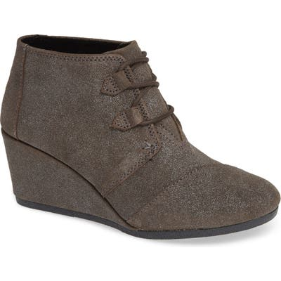 Toms Kala Wedge Bootie, Grey