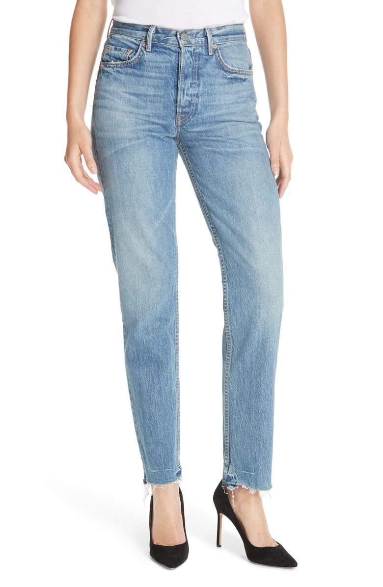 GRLFRND Helena Straight Leg Jeans, Main, color, 404